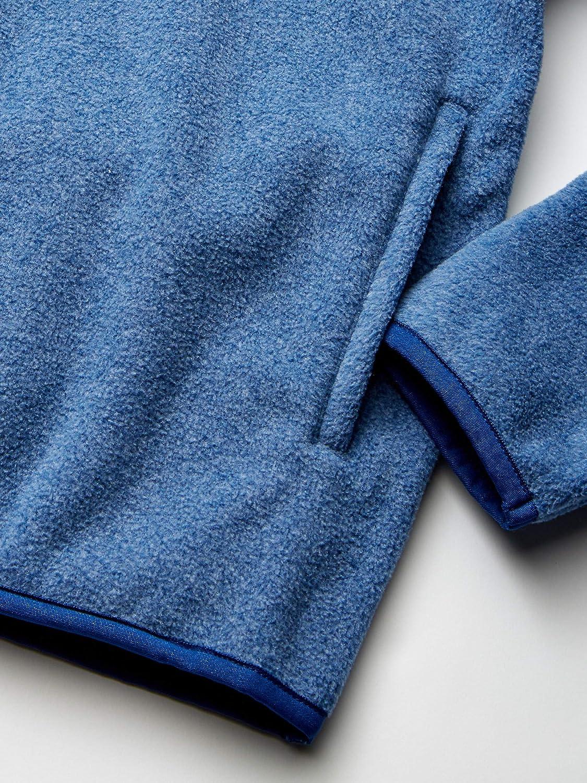 Essentials Boys Quarter-Zip Polar Fleece Jacket