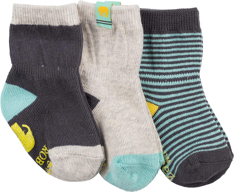 Robeez baby-girls 3-pack Socks Casual Sock