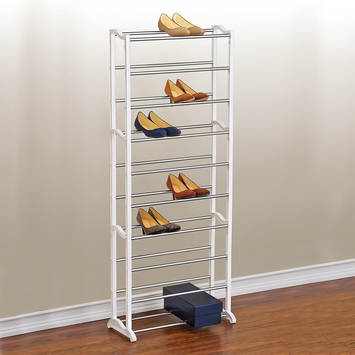 Amazoncom Lynk 30 Pair Shoe Rack