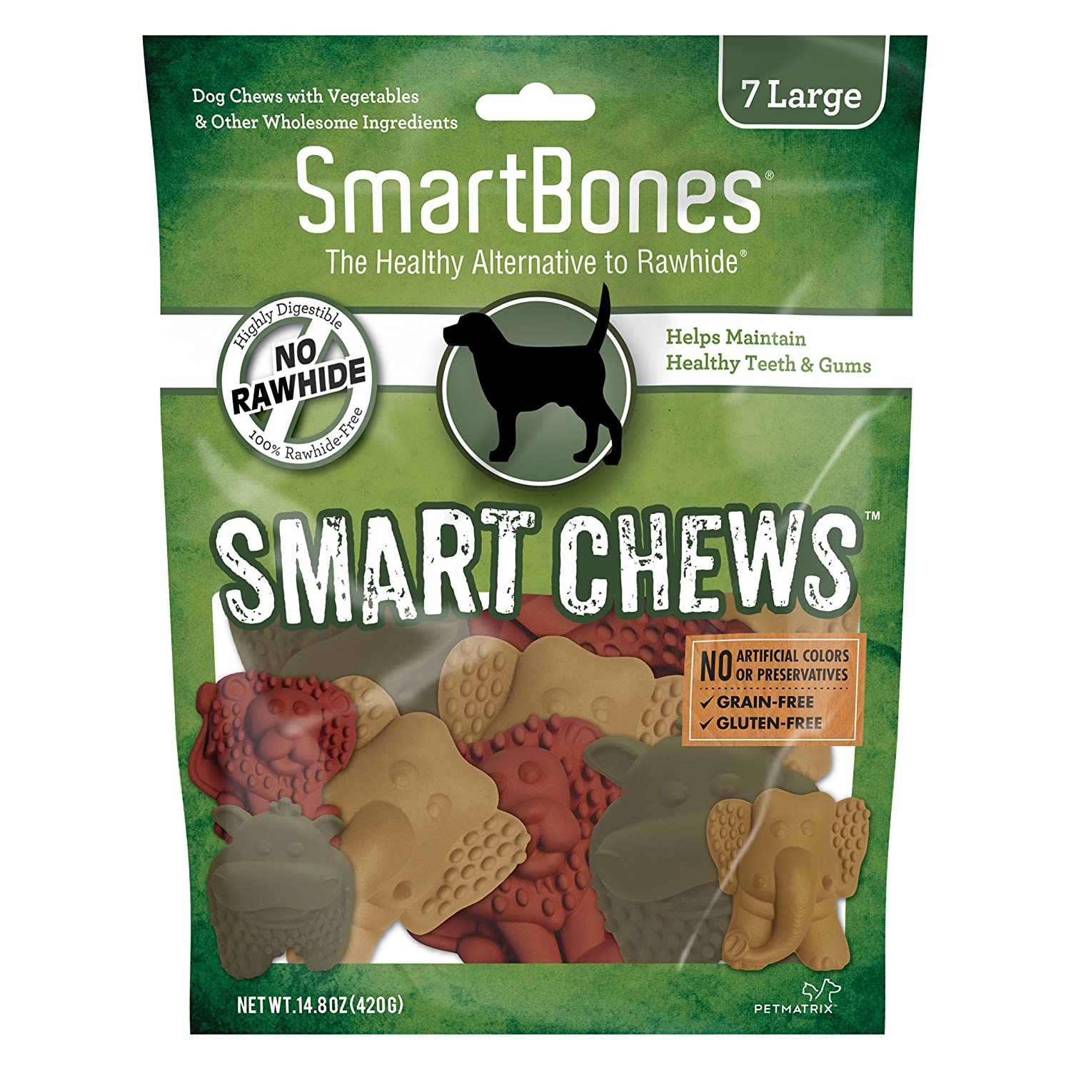 SmartBones SmartChews Safari Chews for Dogs