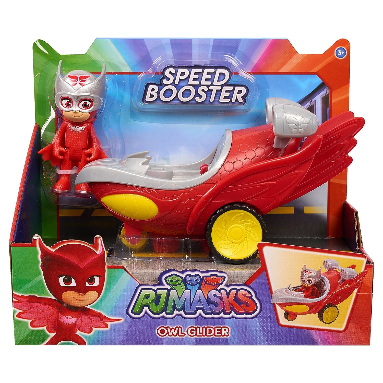 Just Play - PJ Masks Vehículo Speed Booster - Buhíta (Bandai 95232): Amazon.es: Juguetes y juegos