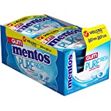 Mentos Pure Fresh Sugar-Free Chewing Gum with Xylitol, Fresh Mint, 12 Piece Resealable Pouch (Pack of 10)