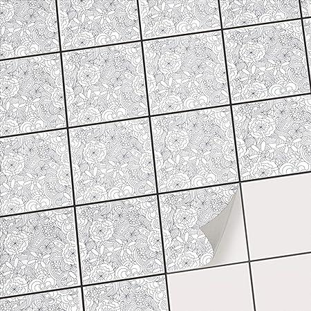 Fliesenaufkleber - [ Fliesen Folie Boden ] - Aufkleber Folie Sticker ...