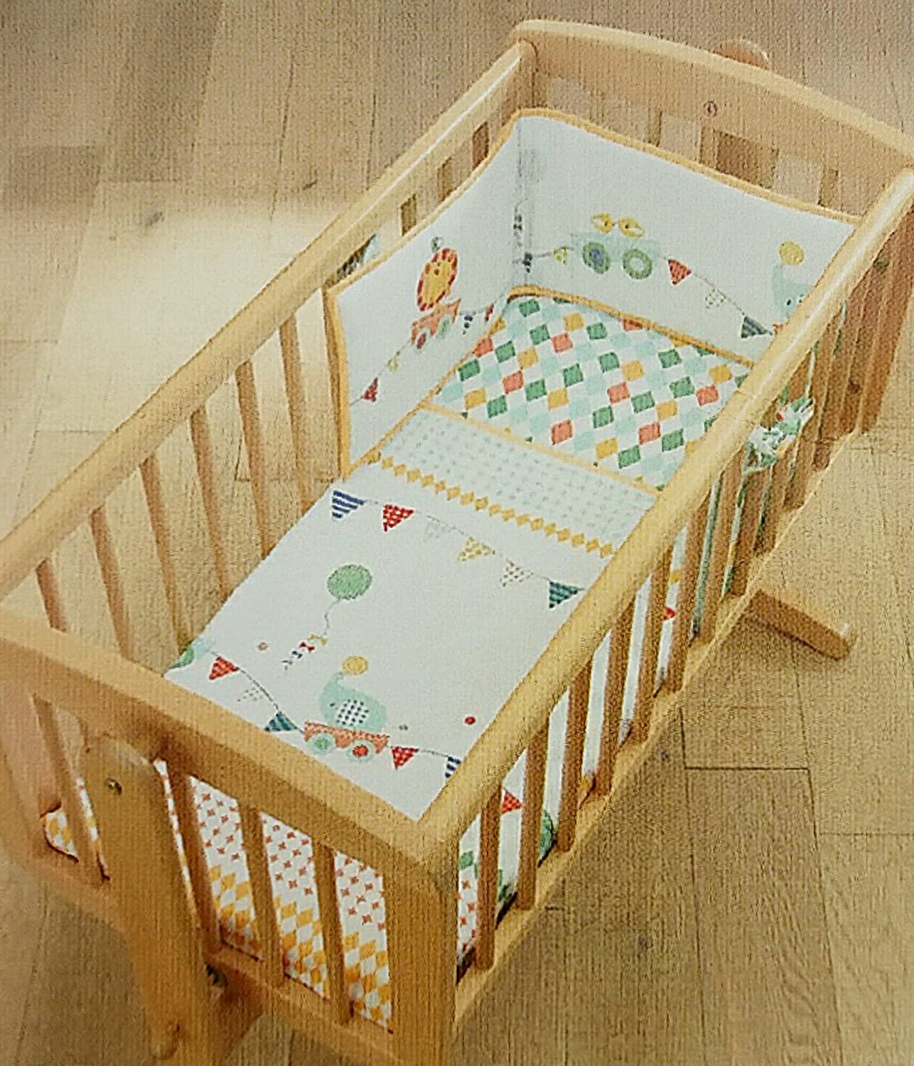Mothercare Crib Bale (Roll up, Roll up Design)