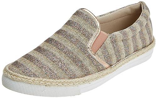 Actualisez 64408, Femmes Chaussures Sans Lacets, Argent (argent), 40 Eu