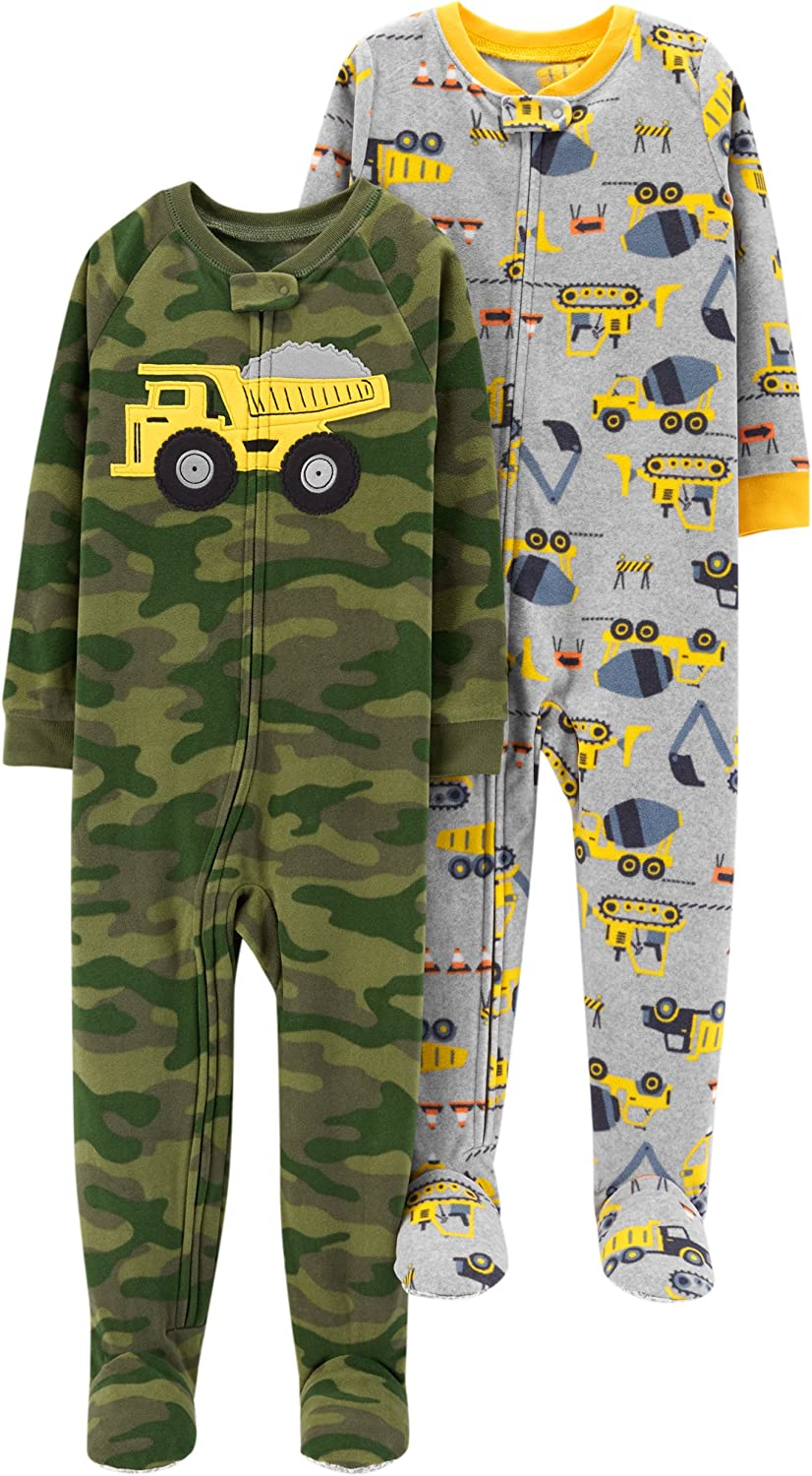 Carters Baby-Boys 2-Pack Fleece Pajama Set
