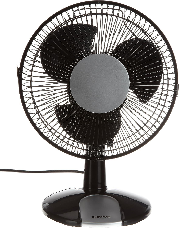 Honeywell HT109E - Ventilador de mesa oscilante, color negro ...