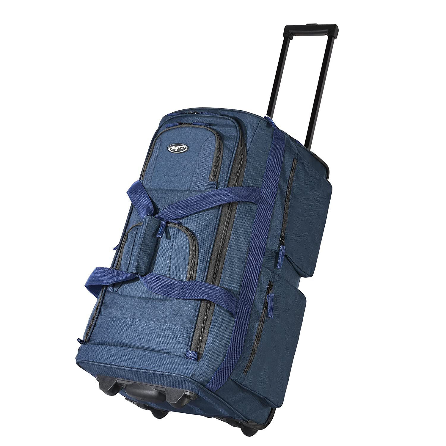 Olympia Luggage 22 Quot 8 Pocket Rolling Duffel Bag Wheeled