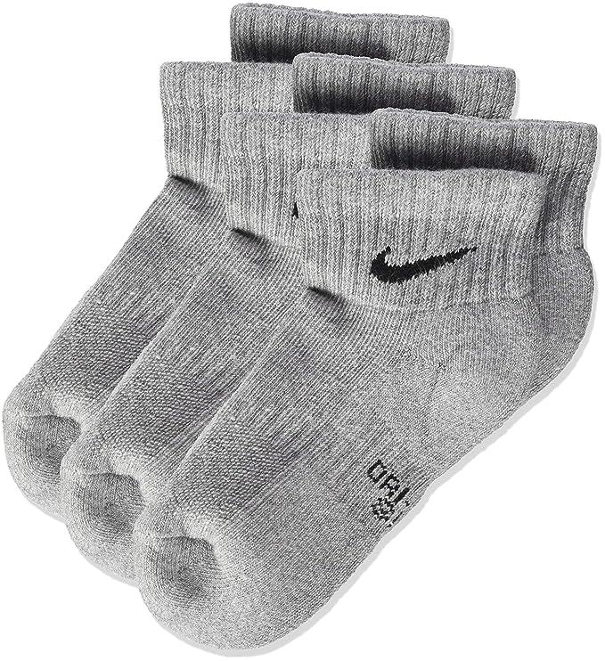 Nike Nike Performance Cushioned Quarter, 3 Pares de calcetines infantil: Amazon.es: Deportes y aire libre