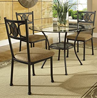 steve silver company carolyn side chairs set of 4 - Four Dining Room Chairs