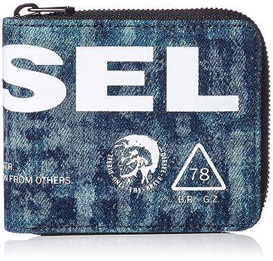 de39fe704576 (ディーゼル) DIESEL メンズ 財布 二つ折り X06004P2088 UNI インディゴブルー T6331