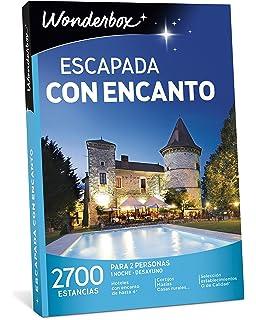 WONDERBOX Caja Regalo -ESCAPADA con Encanto- 2.700 estancias para Dos Personas en Casas Rurales