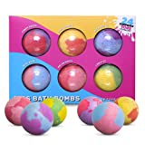 SPLASHOO Bath Bombs for Kids, Gift Set of 6 Huge