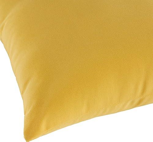 Greendale Home Fashions AZ5811S2-SUNBEAM Sunburst Outdoor Rectangle Throw Pillow Set of 2