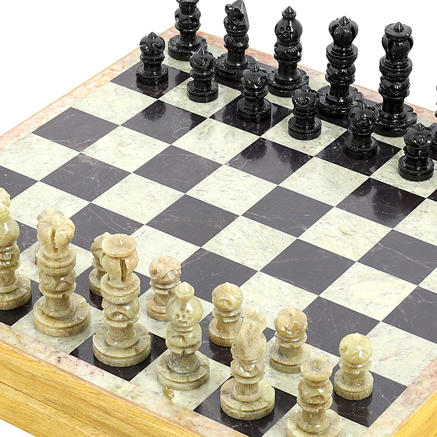 Amazon.com: Rajasthan Stone Art Unique Chess Sets And Board: Toys U0026 Games