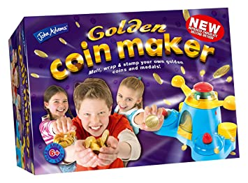 And Kids Maker Activity Fun Toy Golden Coin Creative Childs Kit nk0wON8PX