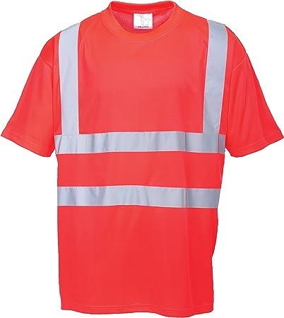 Portwest S478 - Camiseta de Alta Visibilidad, S478RERL: Amazon.es ...