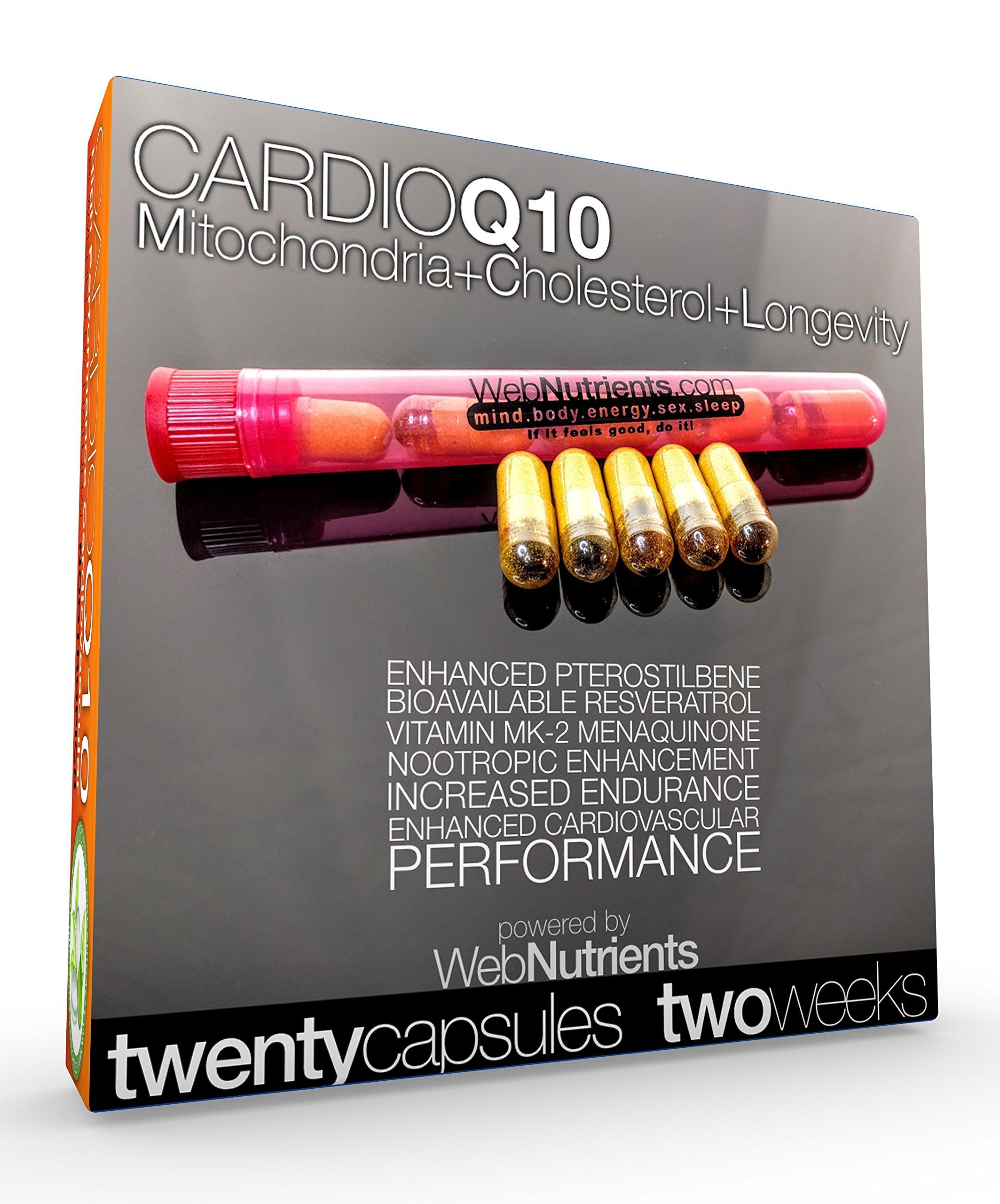 CardioCOQ10 - The AntiStatin - Improve Cardiovascular Performance. Manage Cholesterol Issues. Improve Hormone Levels. COQ10, Resveratrol, Vitamin MK2, Curcumin, Piperine, More.