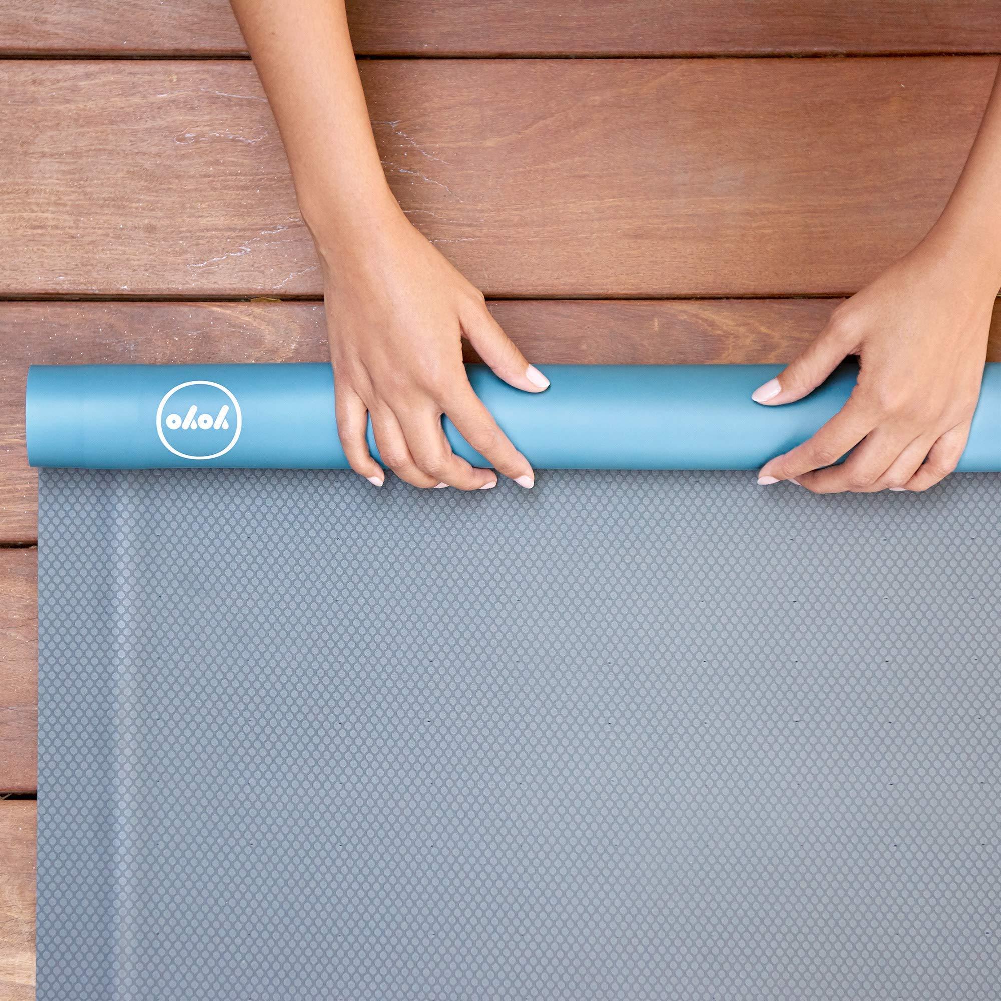 YoYo Mats Malibu Roll Extra Self-Rolling Yoga mat