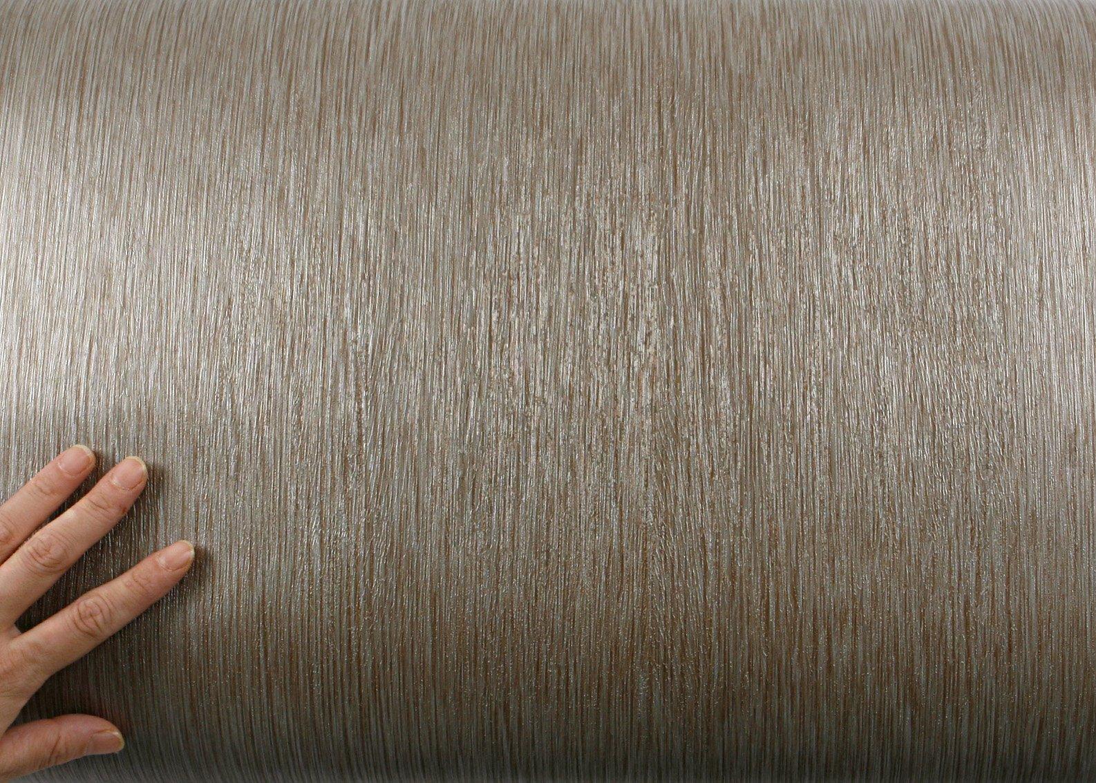 ROSEROSA Peel & Stick Backsplash Luxury Embossed Wood Contact Paper Self-adhesive Wallpaper Shelf Liner Table Door Reform (MG242 : 2.00 Feet X 6.56 Feet) by ROSEROSA (Image #3)