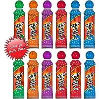 Dabbin' Win Mini Bingo Ink Markers Bulk Case - 144 Daubers (12 Dozen) Assorted Colors, 1.5oz