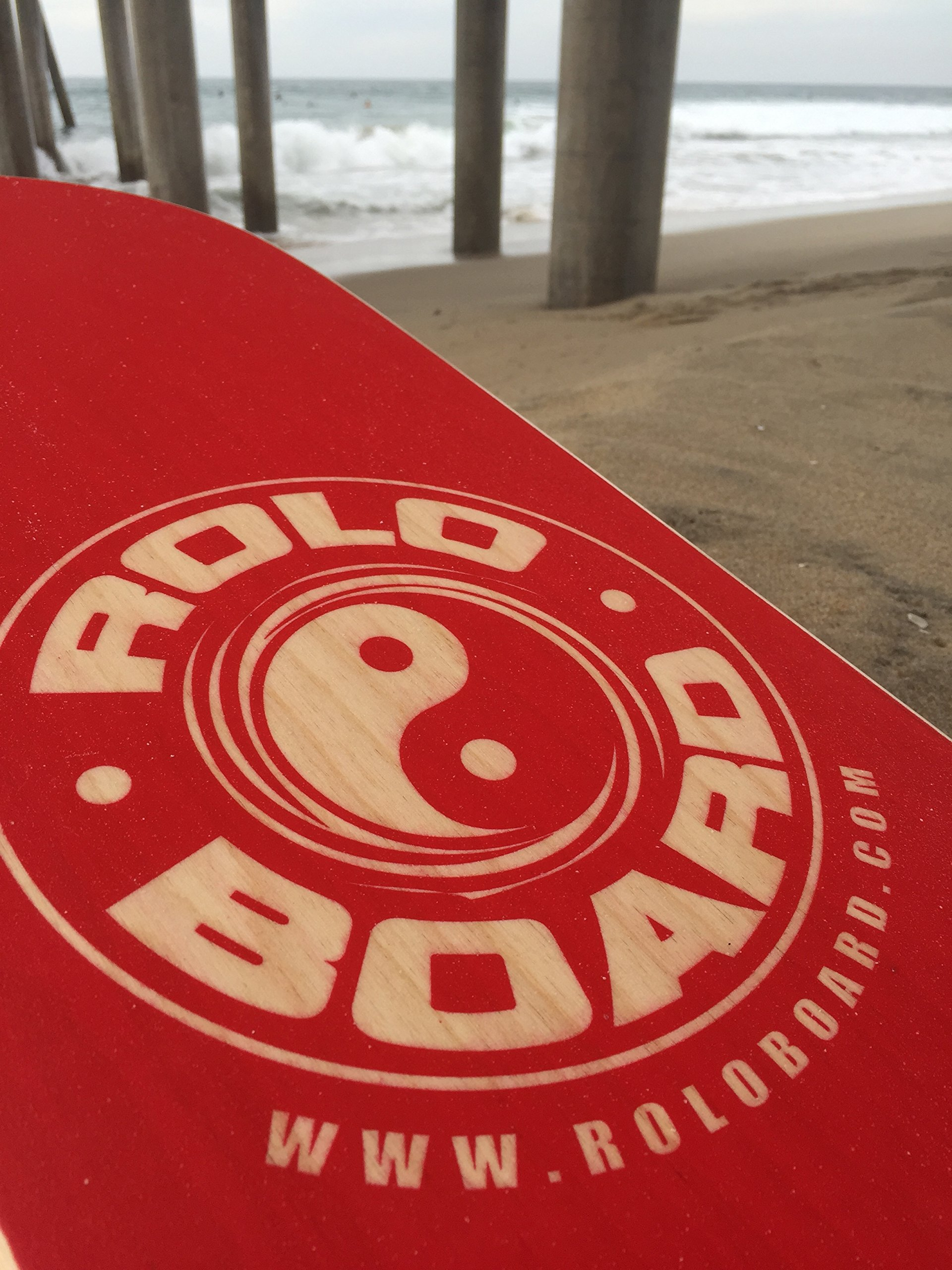 Rolo Balance Board Rad Red - Original Training Package by Rolo Board (Image #4)