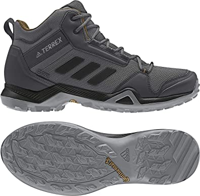 1a5e308e0d706 adidas outdoor Men s Terrex AX3 Mid GTX¿ Grey Five Black Mesa 7.5 D
