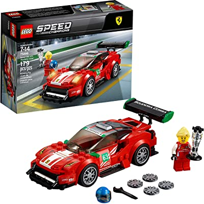 "LEGO Speed Champions Ferrari 488 GT3 ""Scuderia Corsa"" 75886 Building Kit (179 Pieces): Toys & Games"