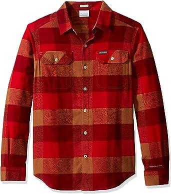 Columbia Flare Gun Camisa de franela elástica para hombre, absorbe la humedad, cómodo elástico: Amazon.es: Ropa y accesorios
