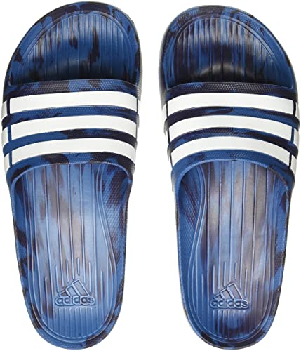 f15f3127d1132d Adidas Men s Duramo Slide Corblu Ftwwht Nobink Flip-Flops and House  Slippers -
