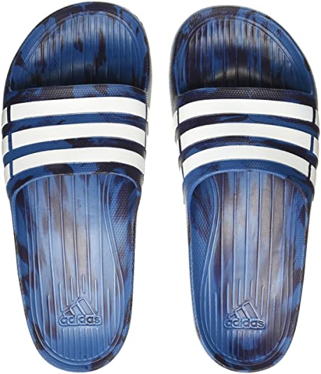 9ccf58c6694 Adidas Men s Duramo Slide Corblu Ftwwht Nobink Flip-Flops and House Slippers  -