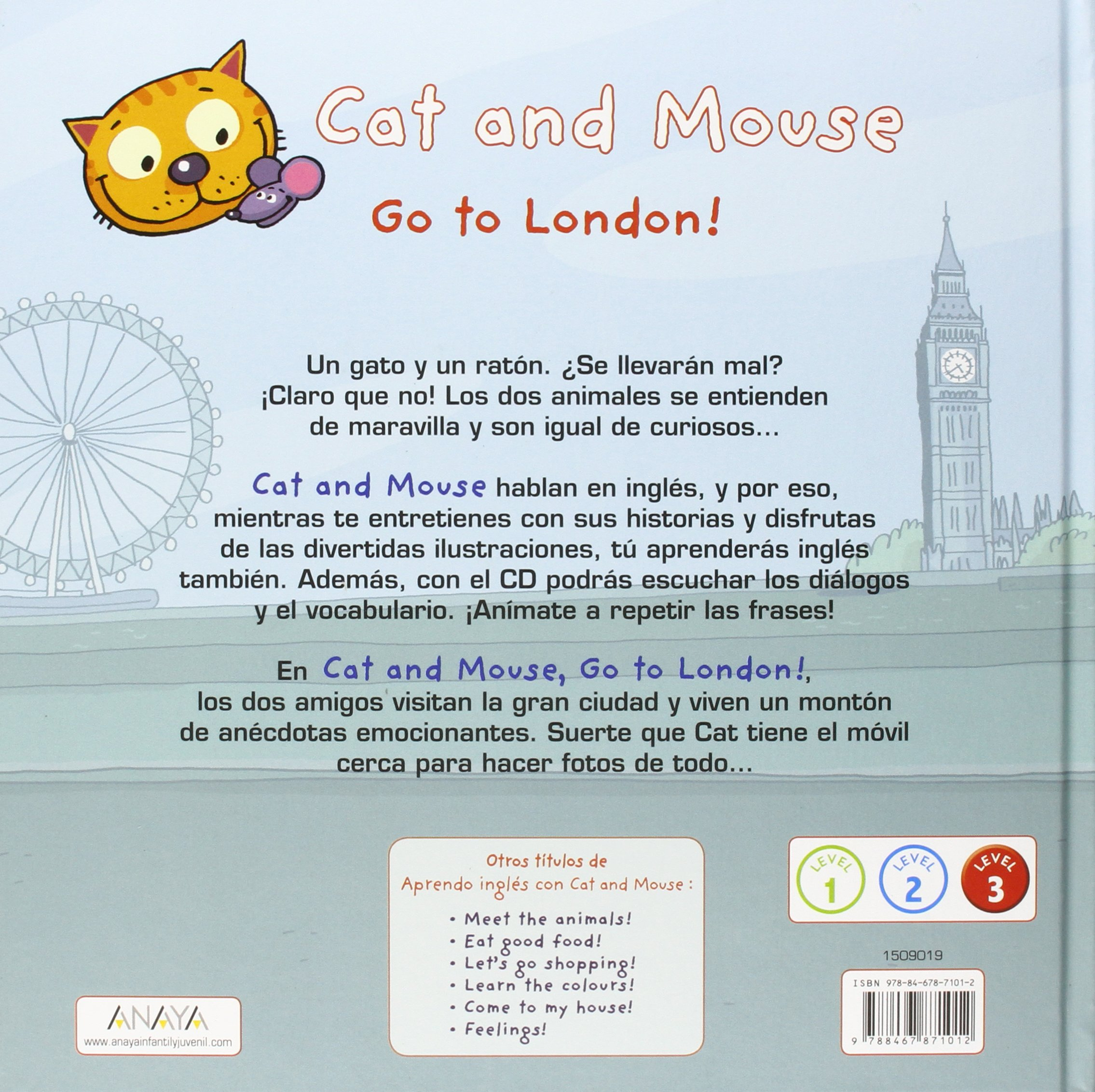 Cat and Mouse. Go to London!: Stéphane Husar: 9788467871012: Amazon.com: Books