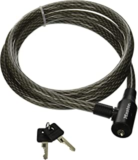 Master Lock 8154DPF Cable Lock, 6-Foot x 3/8-inch - Security Chain ...