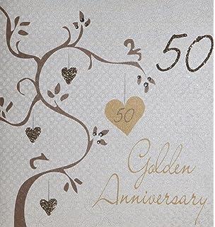 holy mackerel 50th wedding anniversary card amazon co uk kitchen
