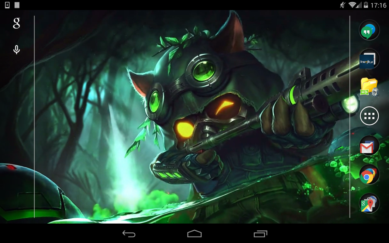 Amazon Com Teemo League Of Legends Live Wallpaper Appstore For