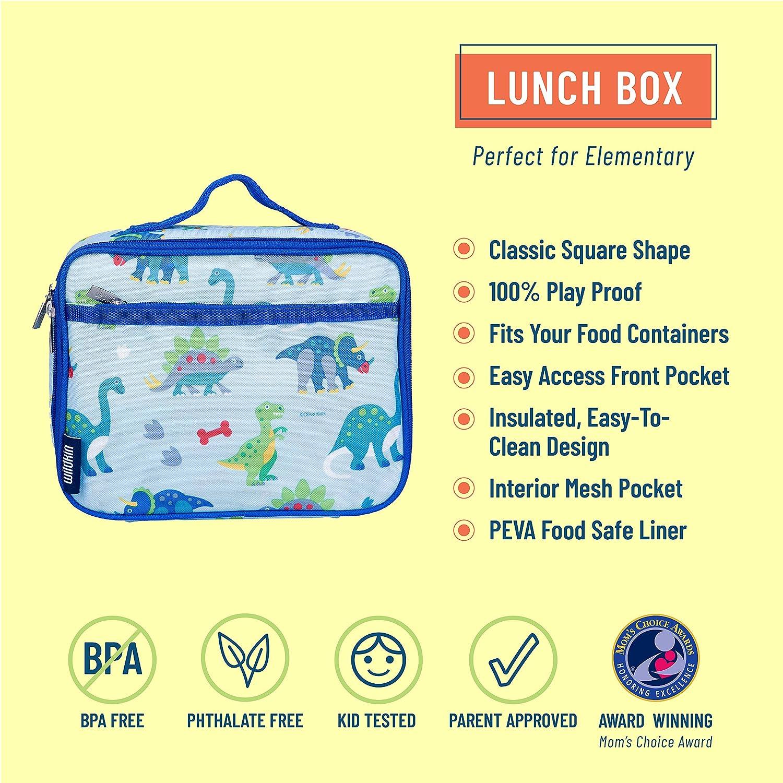 Ballerina eine Gr/ö/ße Wildkin 33901 Lunch Box