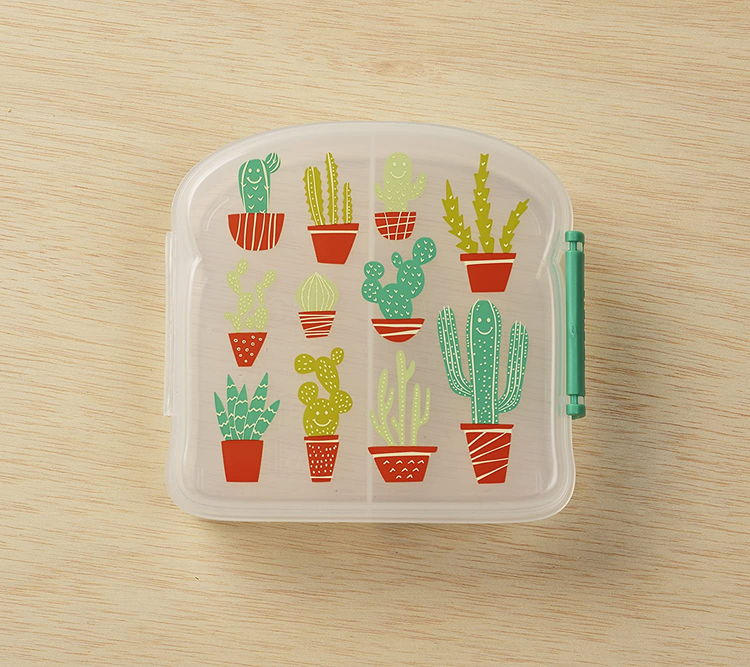 Sugarbooger Happy Cactus Good Lunch® Sandwich Box Ore' A1263