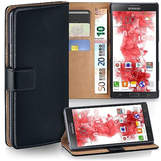 5 opinioni per OneFlow PREMIUM- Book-Style Custodia con design portamonete e funzione stand per