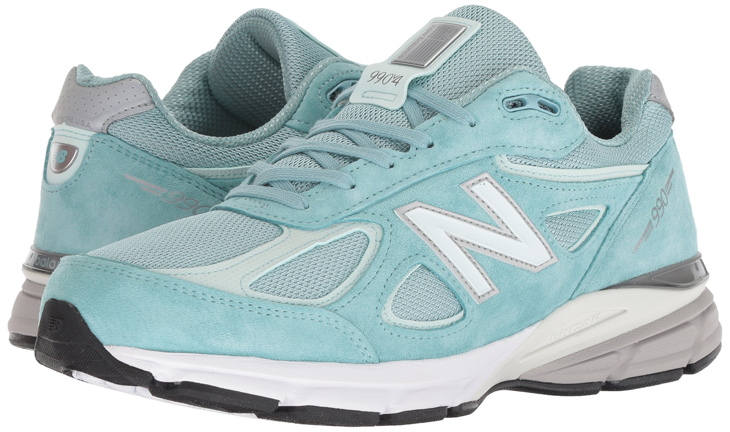 New Balance Men's 990v4, Green/White, 7 D US by New Balance (Image #6)