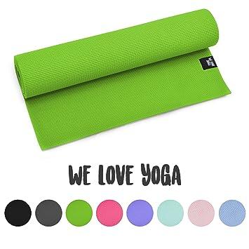 zenpower Colchoneta de Yoga PVC - Antideslizante, fácil de ...