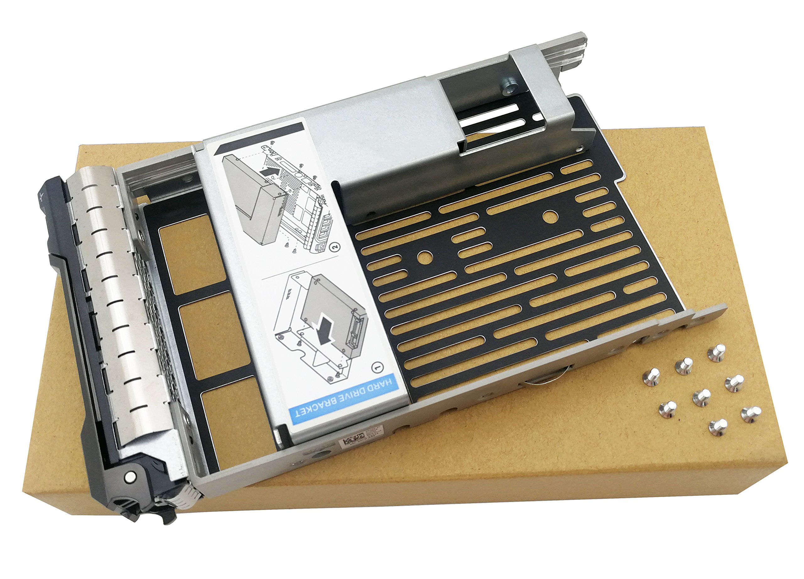 "2.5/"" SAS SATA Hard Drive Tray Caddy For Dell PowerEdge T430 R430 R310 R320 T410"
