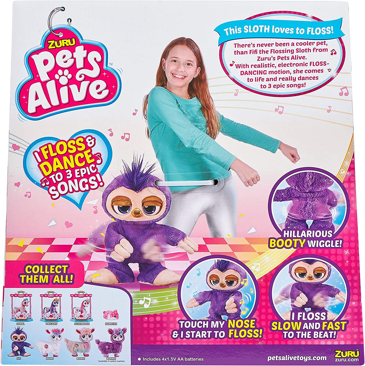 ZURU PETS ALIVE Fifi The Flossing Sloth WAS £24.99 NOW £20 @ Amazon