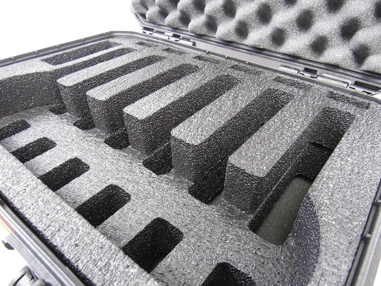 Amazon.com: Pelican Vault Case V300 - Funda de espuma para 6 ...
