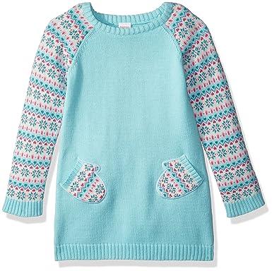4da96933db Amazon.com  Gymboree Girls  Toddler Long Sleeve Shift Dress with ...