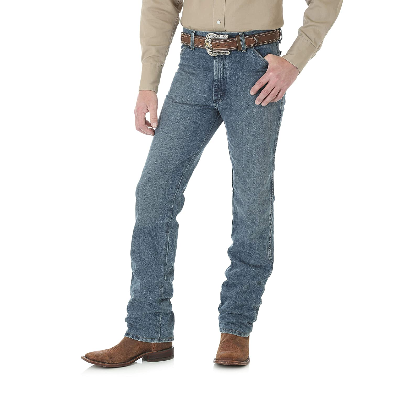 Wrangler Mens Cowboy Cut Slim Fit Jean