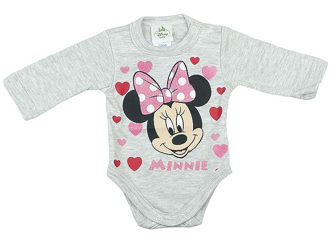 f3c235d7c3 Disney Mädchen Baby-Body, Baumwolle, Spiel-Anzug mit Druck-Knöpfen ...