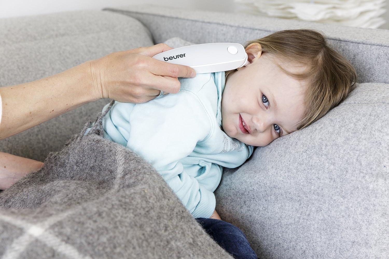 Beurer FT 65 - Termómetro digital multifunción (6 funciones), color blanco: Amazon.es: Salud y cuidado personal