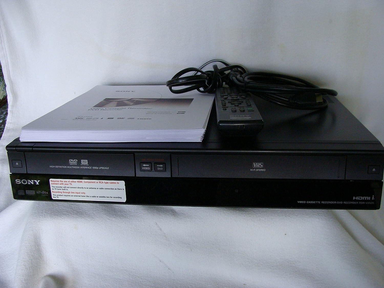 Sony rdr-vx535 reproductor de DVD y grabador VCR Combo con 1080p ...
