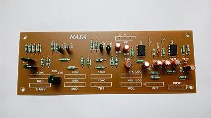 Soumik Electricals Bass Treble Board, Volume Bass Treble Mid Control Board,  Kit