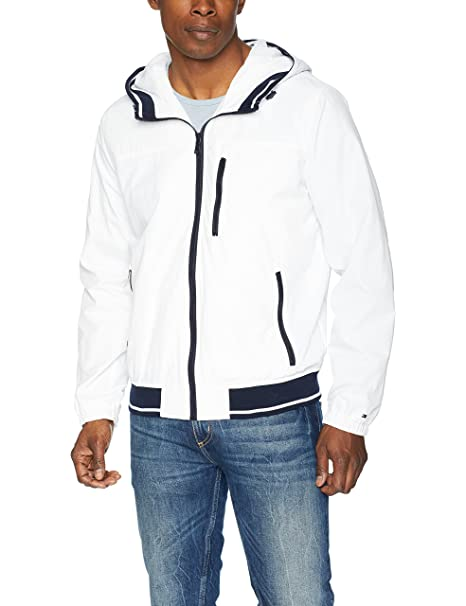 casual shoes new style innovative design Tommy Hilfiger Men's Lightweight Boat House Hooded Bomber ...